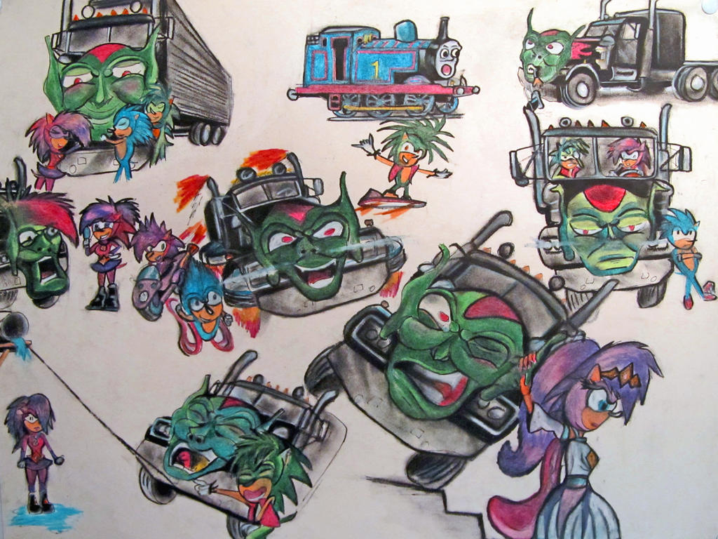 Maximum Overdrive with Sonic. by RPM1000