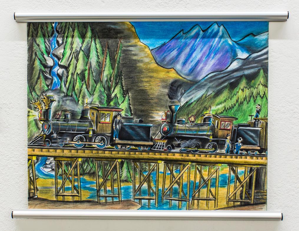 White Pass and Yukon Railroad, Alaska. by RPM1000