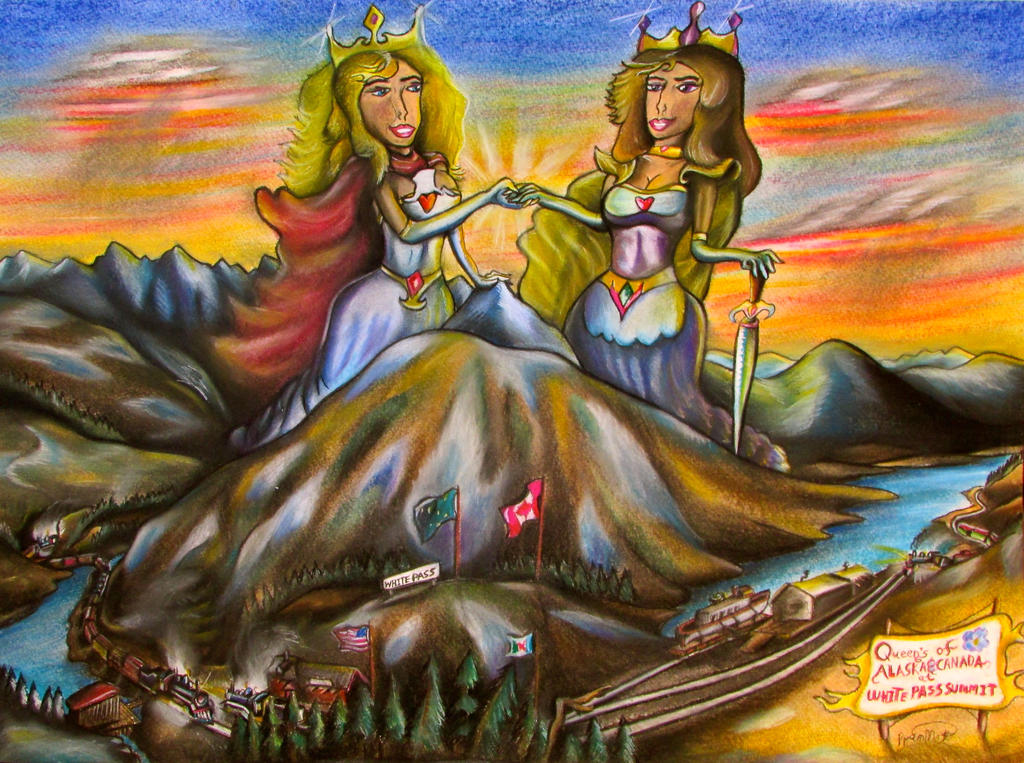 Giantess Queens of the North. by RPM1000