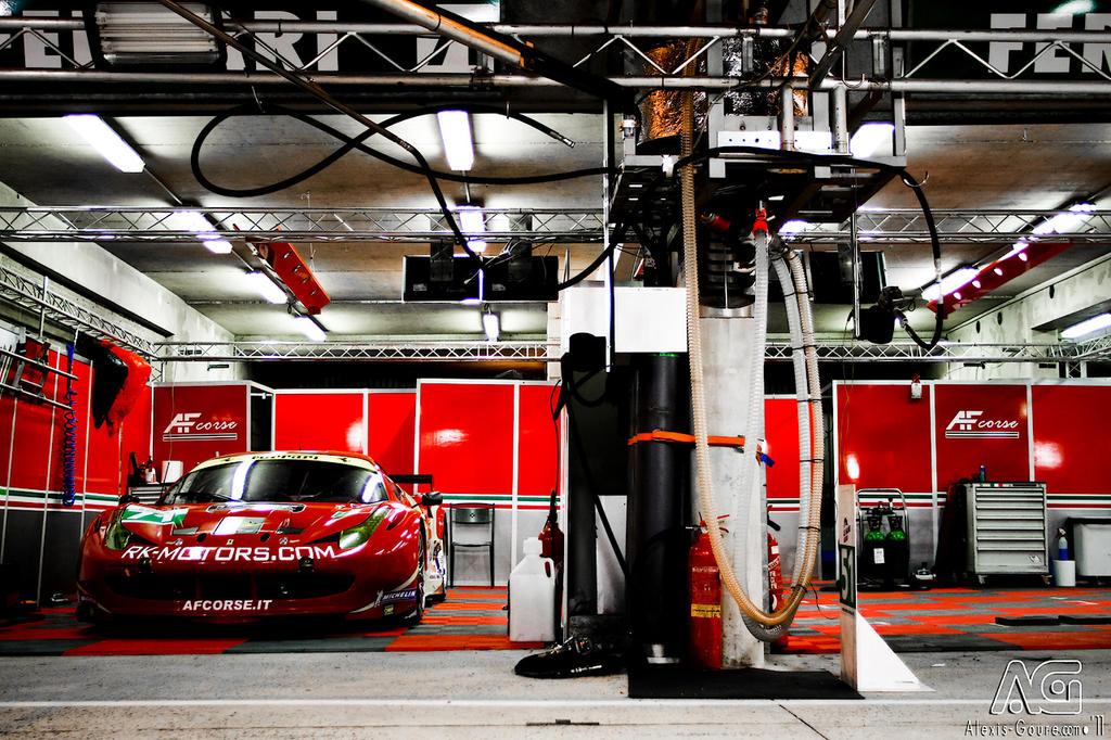 Le Mans 2011 - Ferrari 458 Italia by alexisgoure
