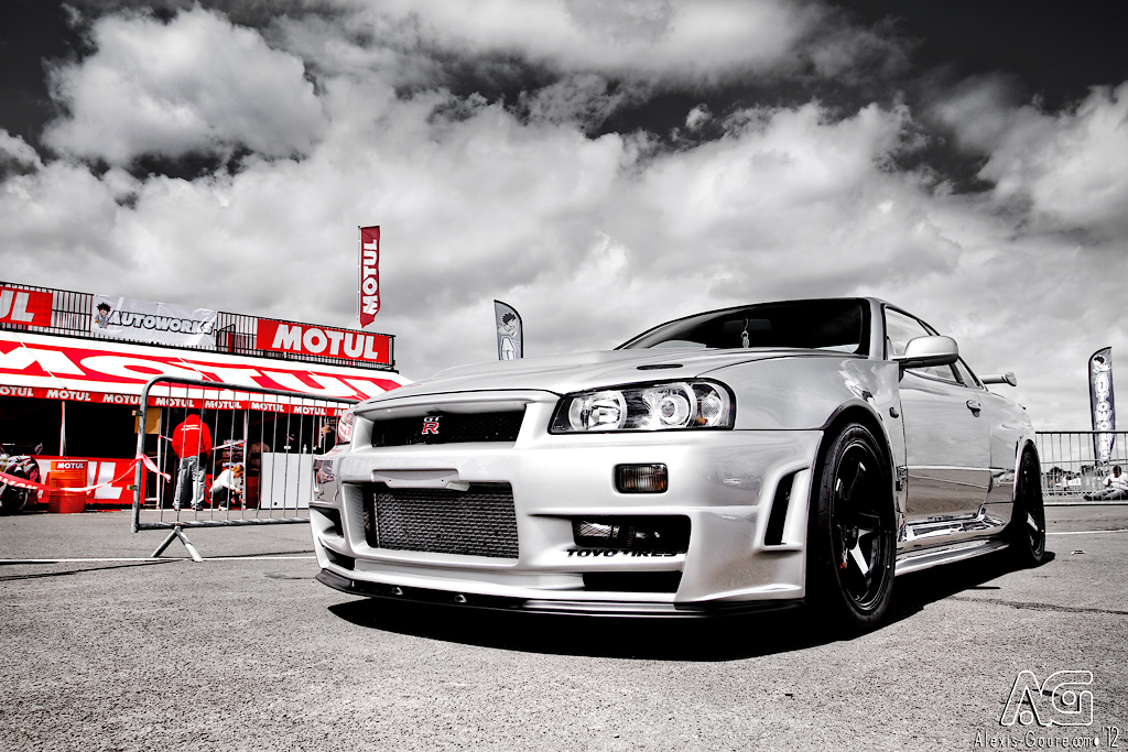 Nissan R34 GT-R by alexisgoure