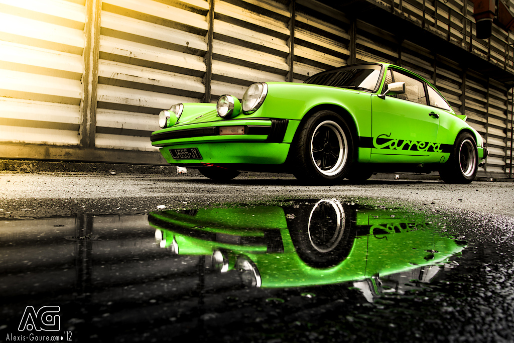 Porsche 2L7 Carrera - Reflection by alexisgoure