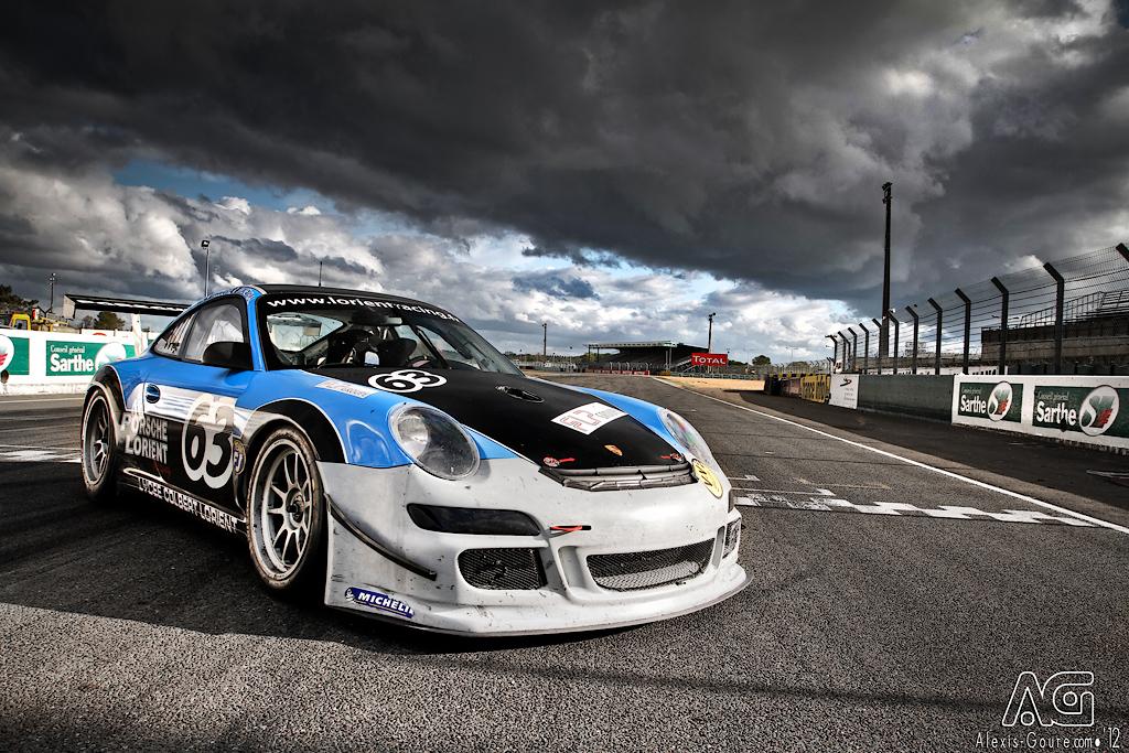 Porsche vs Storm! by alexisgoure