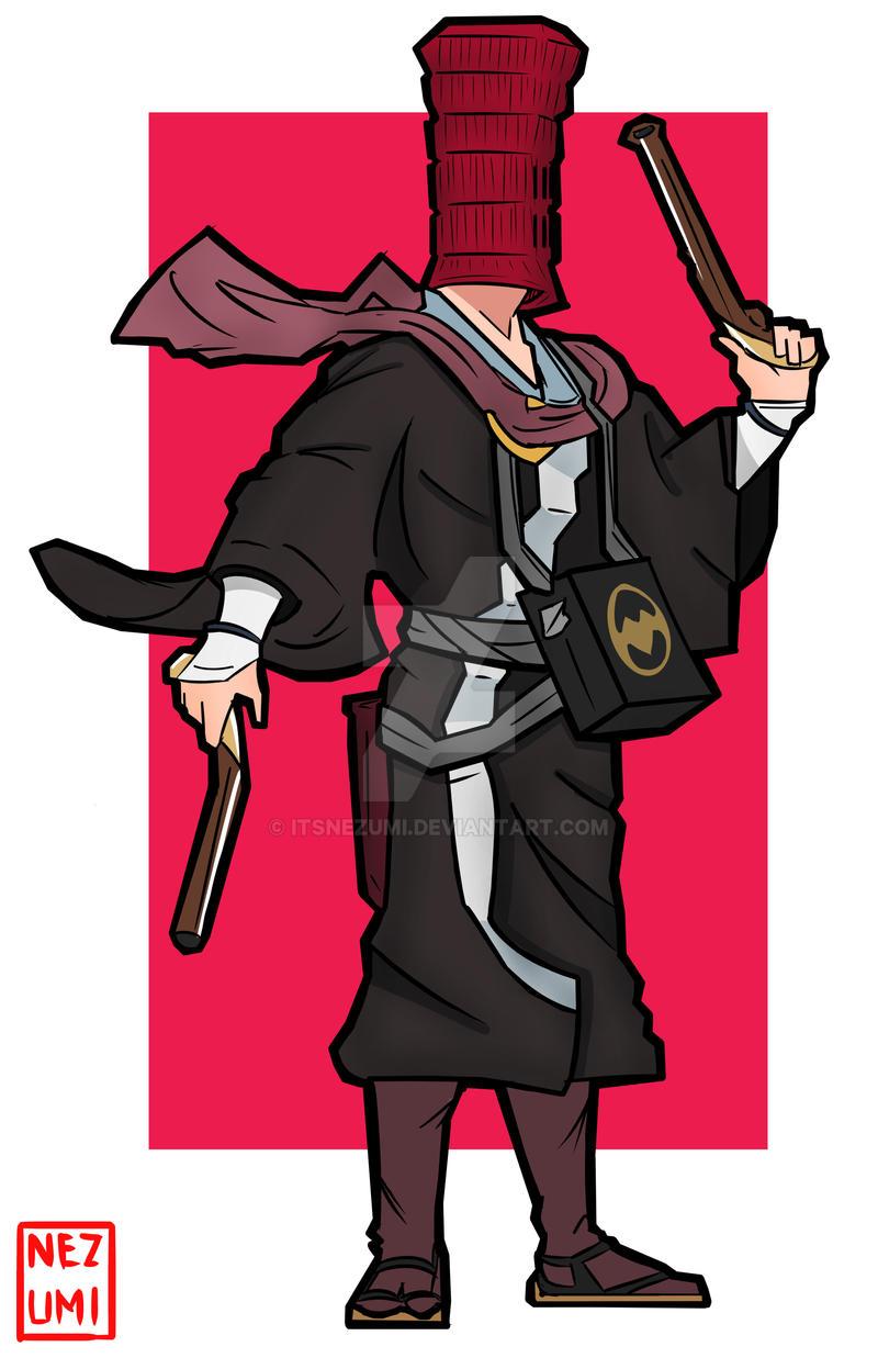Red Hood From Batman Ninja By Itsnezumi On Deviantart