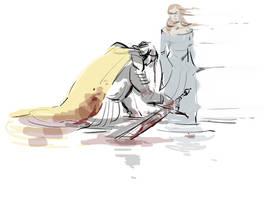 ASoIaF - she wolf by Eeba-ism
