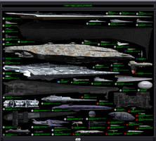 Chart Three: Capital Starships by IanKeenanArts
