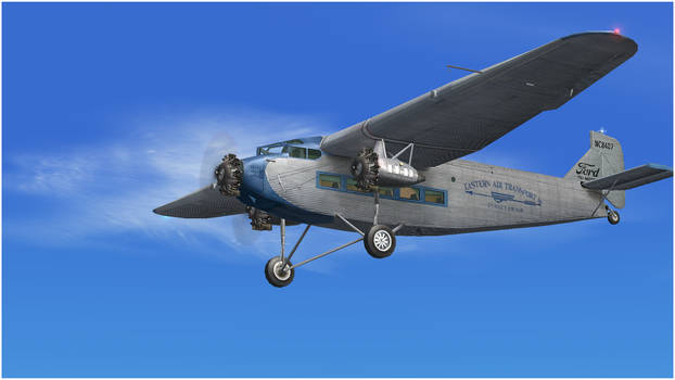 Ford 4-AT-E Trimotor NC8407