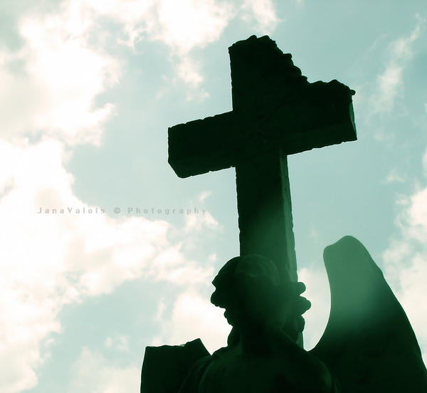 the cross by JaneV