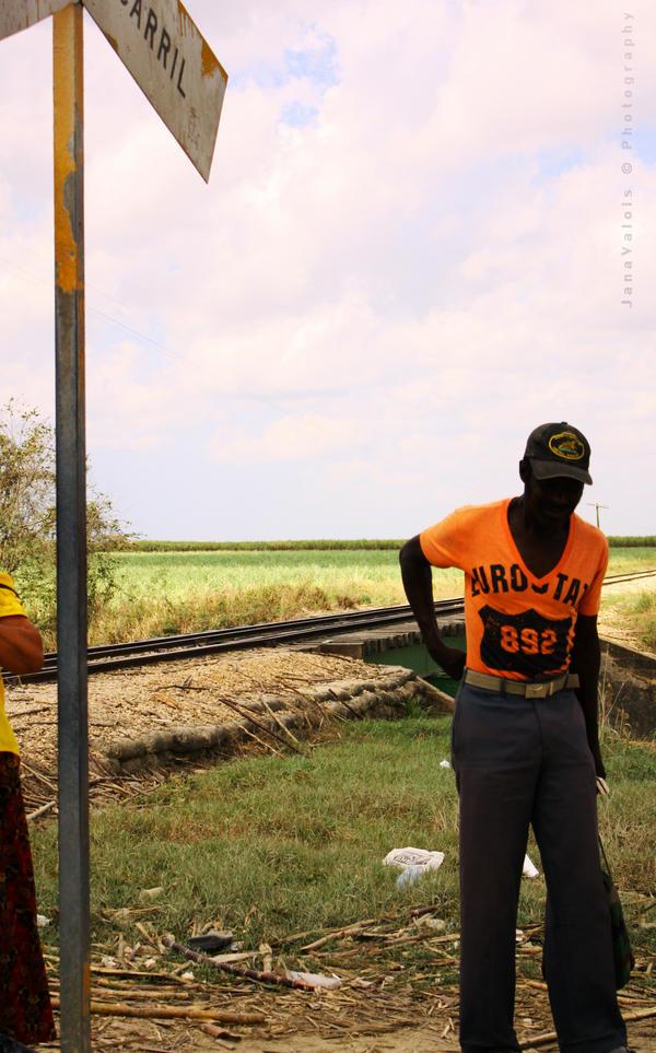 orange shirt by JaneV
