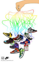 Nike Dunks by FLIPxoutx
