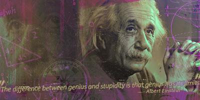 Einstein by Pistonsboi
