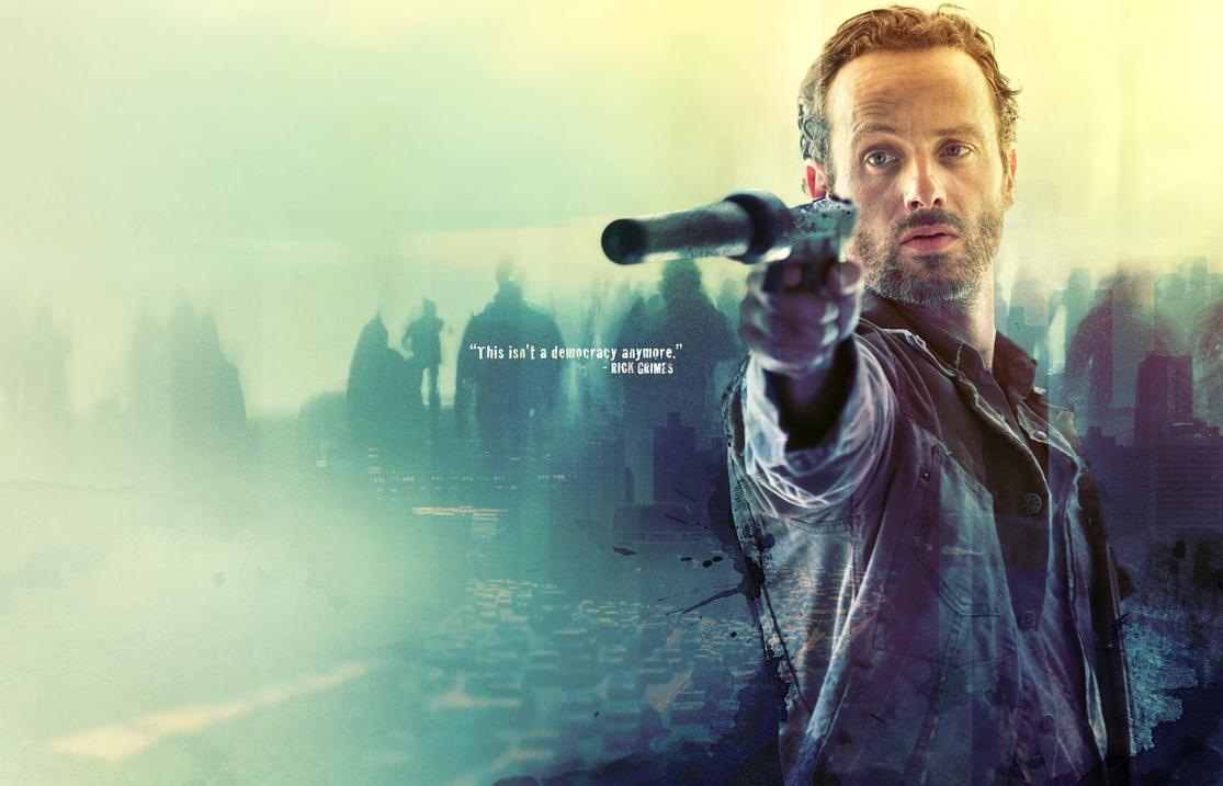Walking Dead Rick Grimes By Pistonsboi