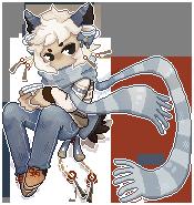 Erdoaan Aphora Pixel Page Doll by hayum