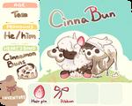 Cinnabun - Registration sheet