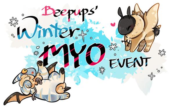 Open Beepup Winter Free Myo Event By Hayum On Deviantart