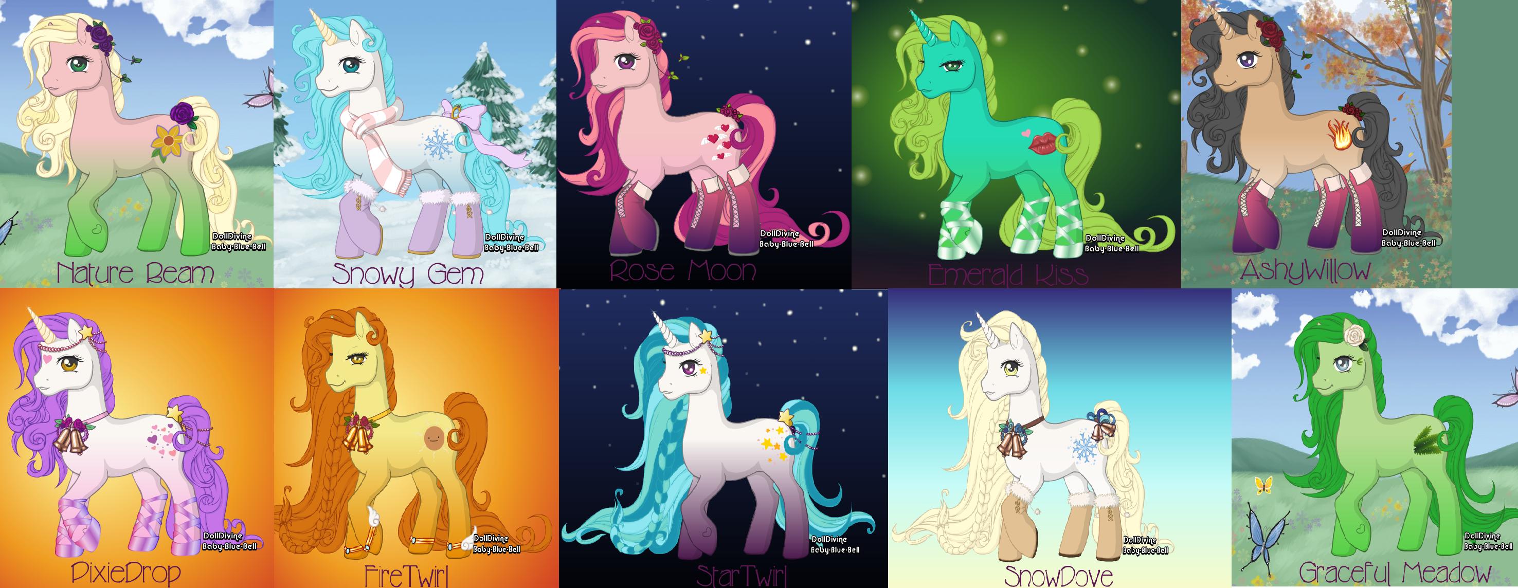 Pony adoptables by alyssasly