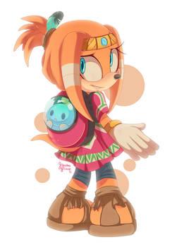 Tikal doodle 60