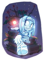 Ghost Girl by XibalbaPiixan