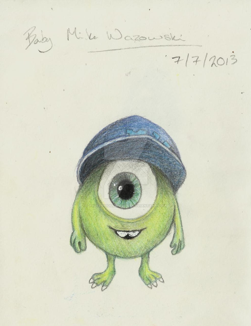 How To Draw Mike Wazowski And Sully Sully And Mike ...