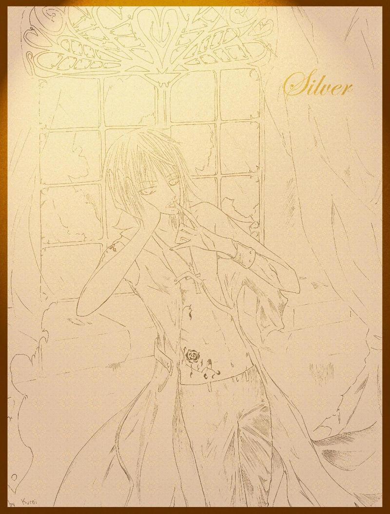 """mis dibujines :3 """"nuevos dibujitos >W<"""" Vampire_Silver_by_kuroi_onee"""