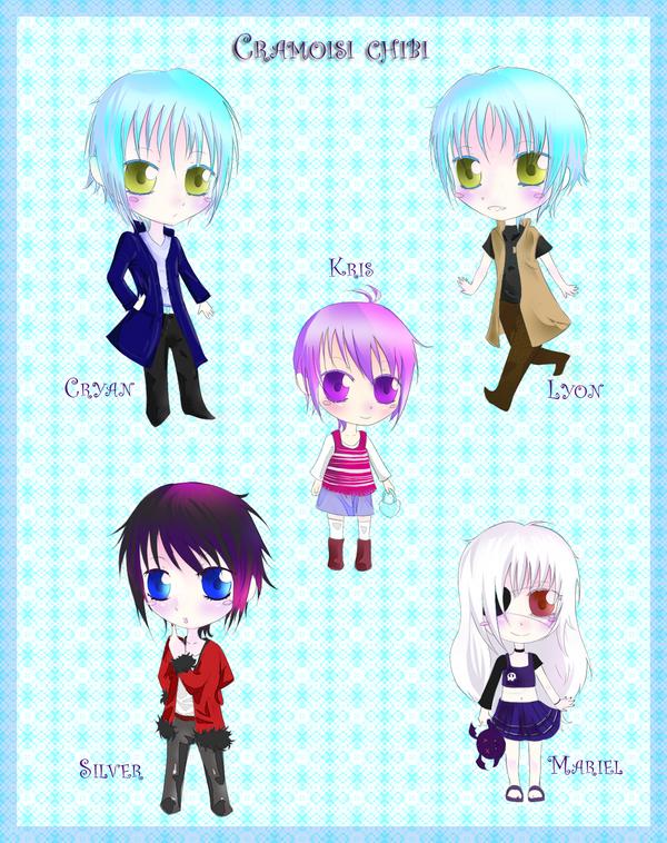 "mis dibujines :3 ""nuevos dibujitos >W<"" - Página 2 My_OC__chibi_set_by_kuroi_onee"