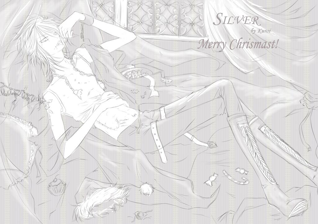 """mis dibujines :3 """"nuevos dibujitos >W<"""" - Página 2 Merry_Chrismast__2009_by_kuroi_onee"""