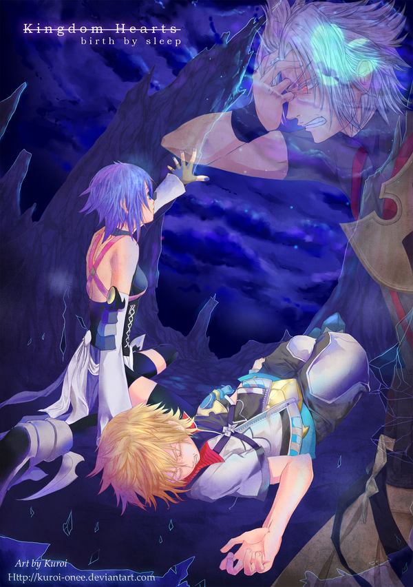 Kingdom Hearts: doubt by kuroi-onee