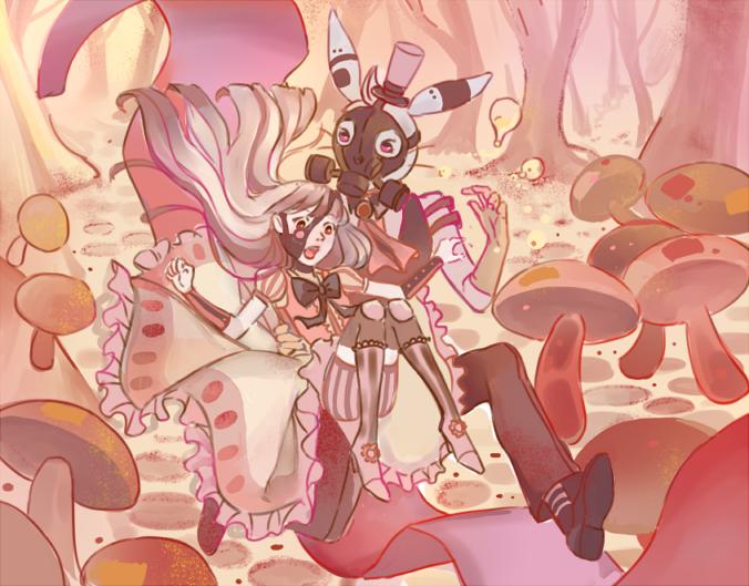 Alice bunny - cyanirisnocturne | ello