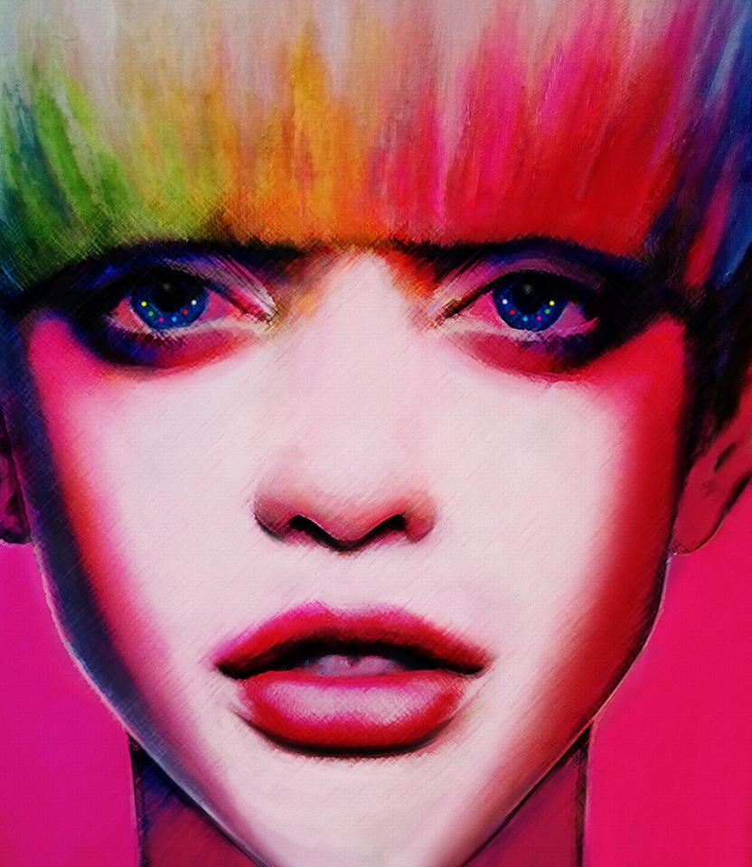 Color machine by Anna-Madarasz