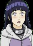 Hinata suprised look render