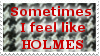 Stamp-Feel Like Holmes (Houndstooth) by Cygnicantus