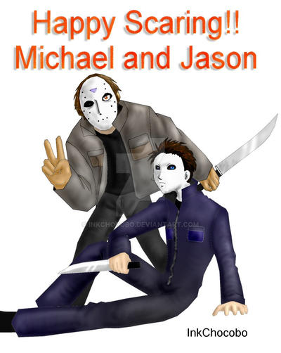 Michael Myers Jason Voorhees By Inkchocobo
