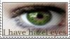 Hazel Eyes Stamp by ehrehrere