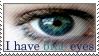 Blue Eyes Stamp by ehrehrere