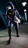 Covering Shepard by FantasyNinja