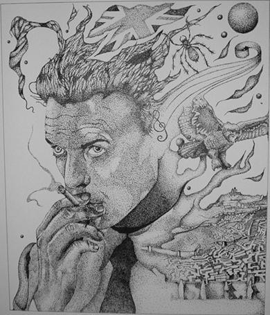 Bowie by FantasyNinja