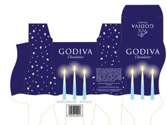 Godiva Cordial box