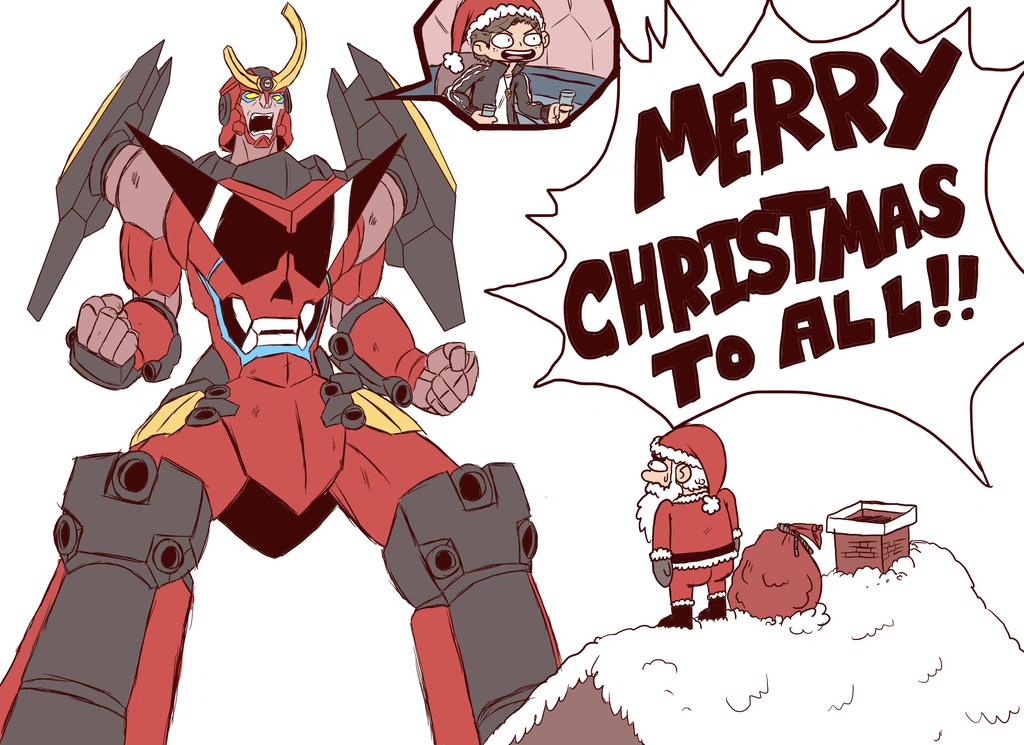 merry Xmas Mecha_christmas_by_captain_garchomp-d6zbdpk