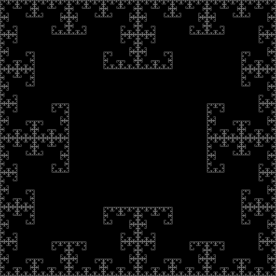 Huge 6000x6000 T-Square Fractal by IrsanDemosa