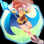 [COM] - Isekai Cheat Magician - Azuma Rin by AO-RY
