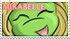 Mirabelle Fan Stamp by Milykins
