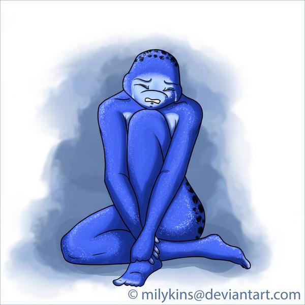 Sadness by Milykins