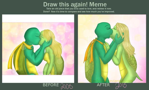 Draw It Again - Kiss by Milykins
