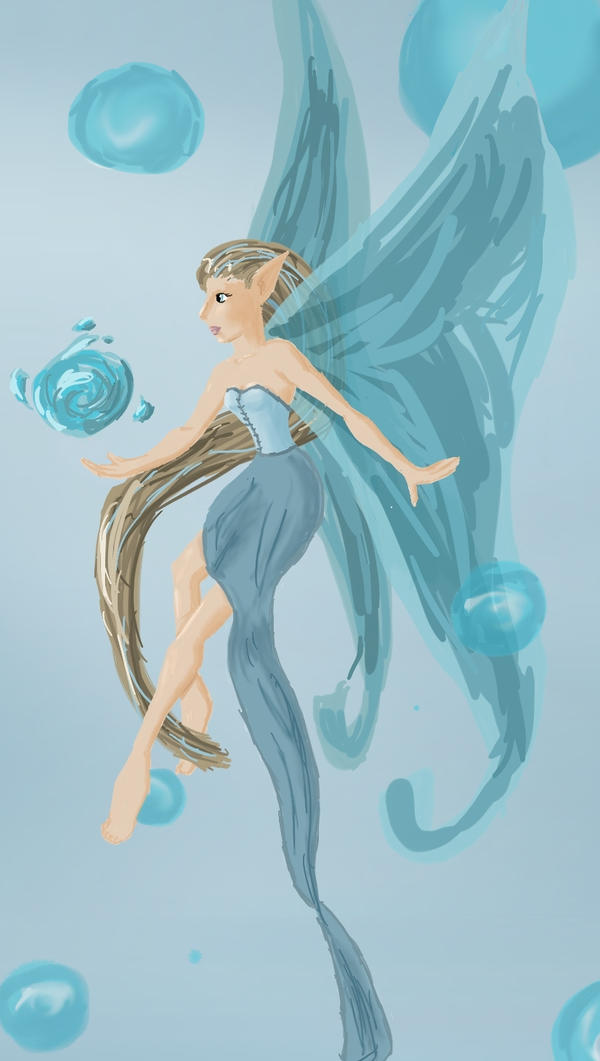 Water Fairy by LadySkylar on DeviantArt