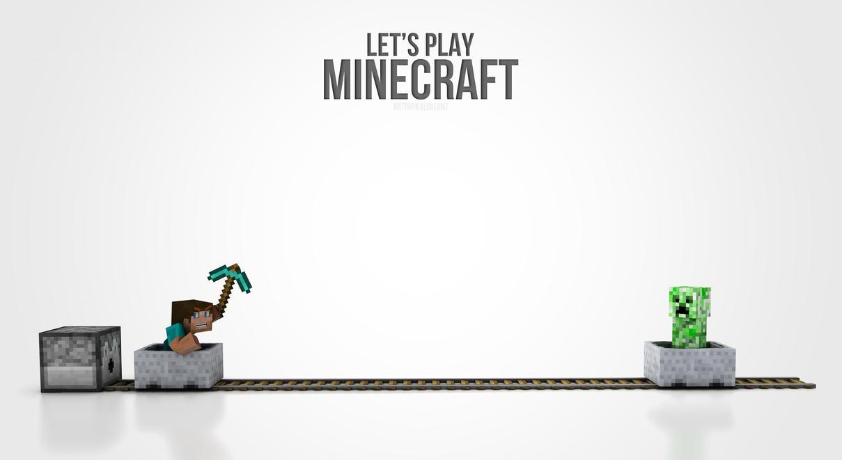Good Wallpaper Minecraft Simple - minecraft___simple_3d_wallpaper_by_killaoptik-d5afeic  Trends_949164.jpg