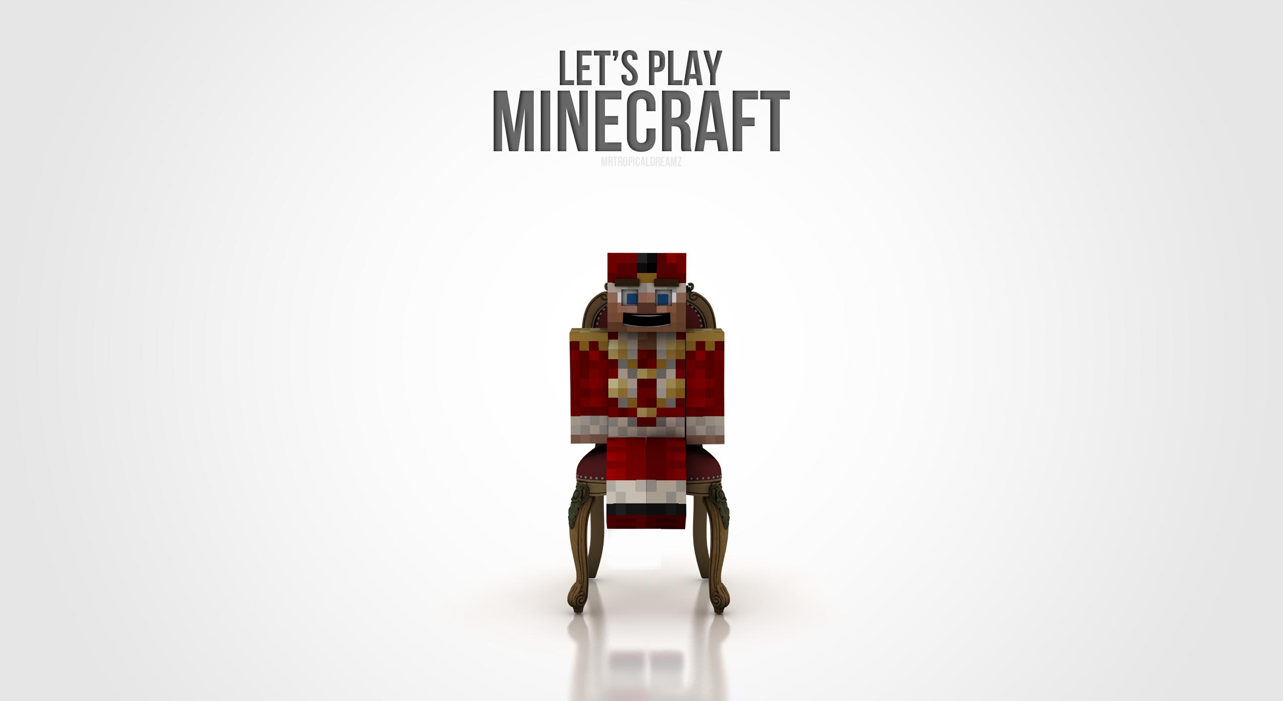 Minecraft Simple 3d Wallpaper By Killaoptik On Deviantart