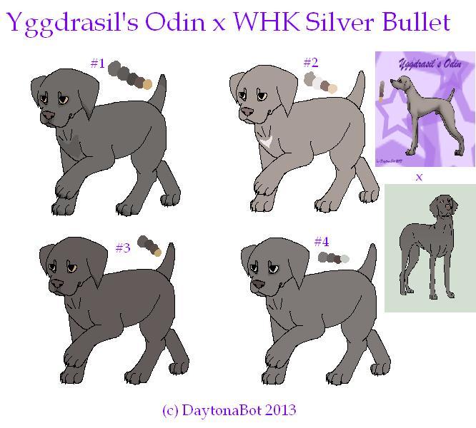 Yggdrasil's Odin x WHK Silver Bullet (#1 LEFT) by DaytonaBot