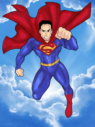 SuperMan: Up In The Sky!