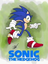 Itsa Sonic The Hedgehog