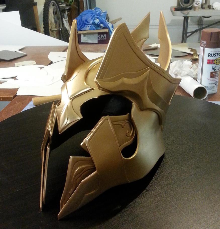 Diablo 3: Archangel Imperius Helmet by FabricatorDjinn